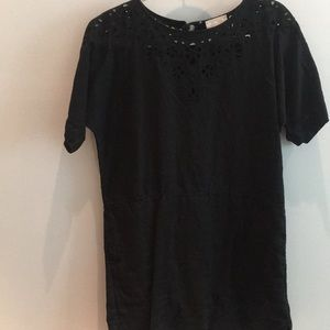 Aritzia black mini dress